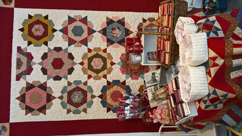 Rose Star patchwork