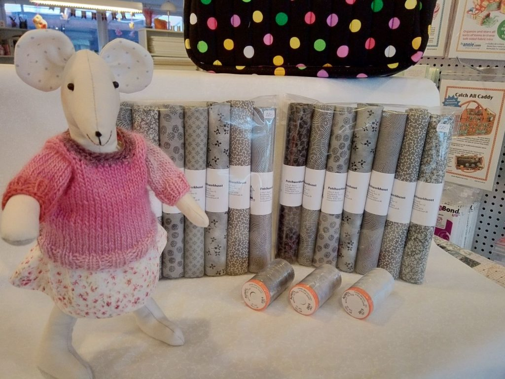 MARAPYTTA: Quiltet Molly pige jakke#1